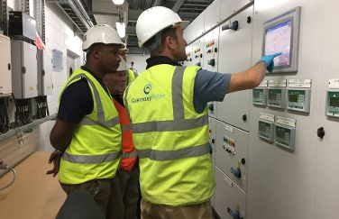 Project Manager from Tanzania visits Guernsey Water