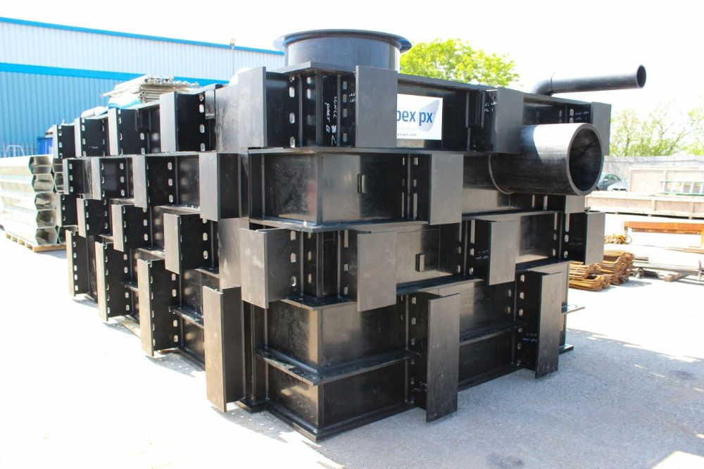St Sampson HDPE tank