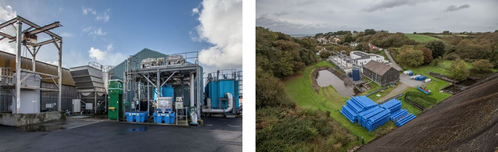 Guernsey Water's treatment works, Longue Hougue & St Saviours